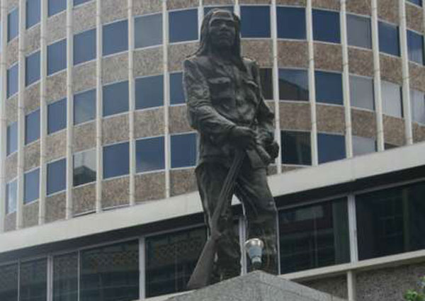 Dedan Kimathi's monument in Nairobi's CBD on February 15, 2012. I appreciate these memorials as pieces of public art, but also as reminders of different aspects of Kenya's history. PHOTO | NATION MEDIA GROUP